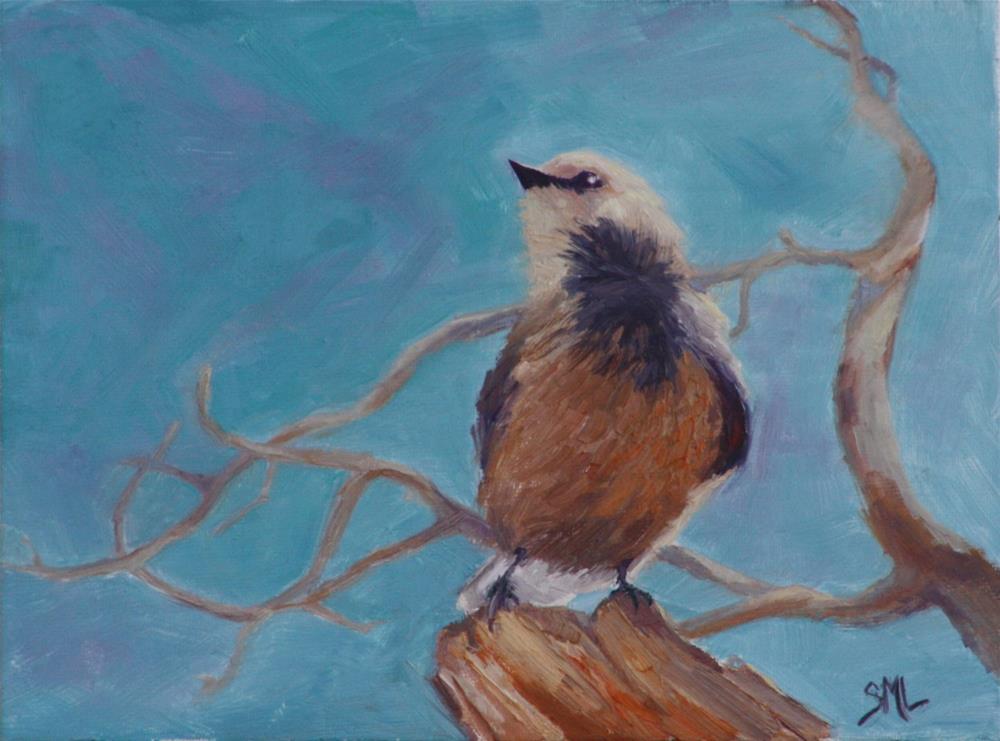 """PB&J Bandit"" original fine art by Sheila Marie"