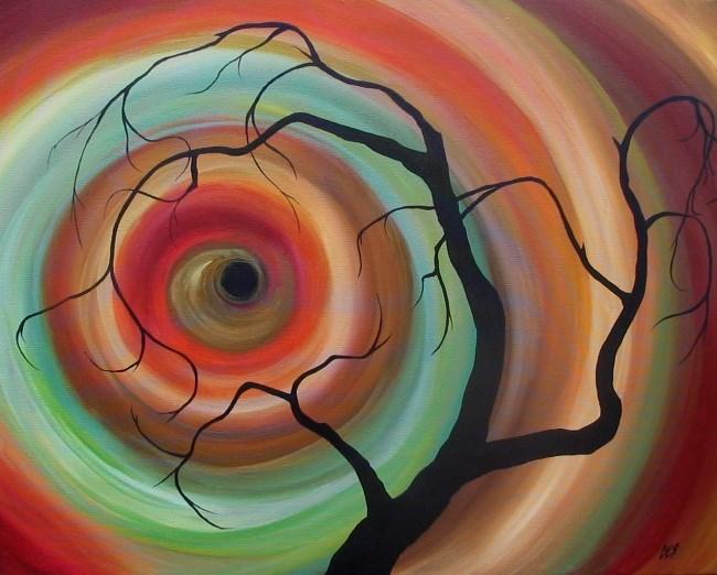 """Eclipse"" original fine art by ~ces~ Christine E. S. Code"