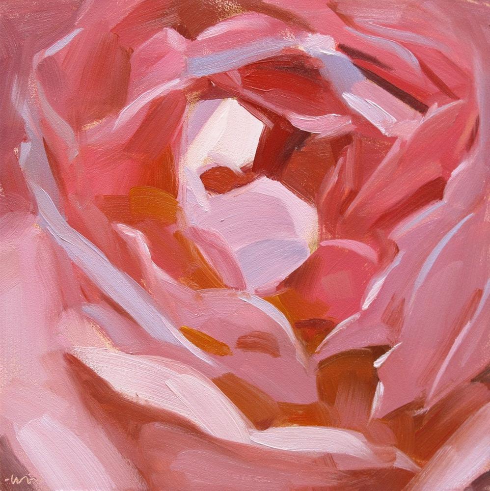 """Many Petals"" original fine art by Carol Marine"