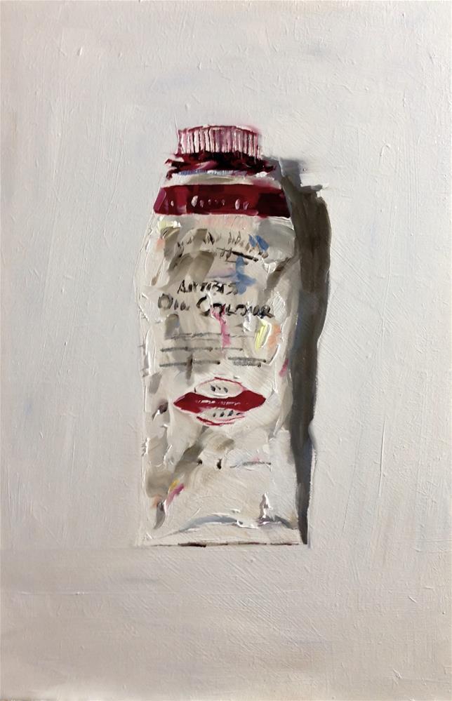 """""""Paint Tube"""" original fine art by James Coates"""