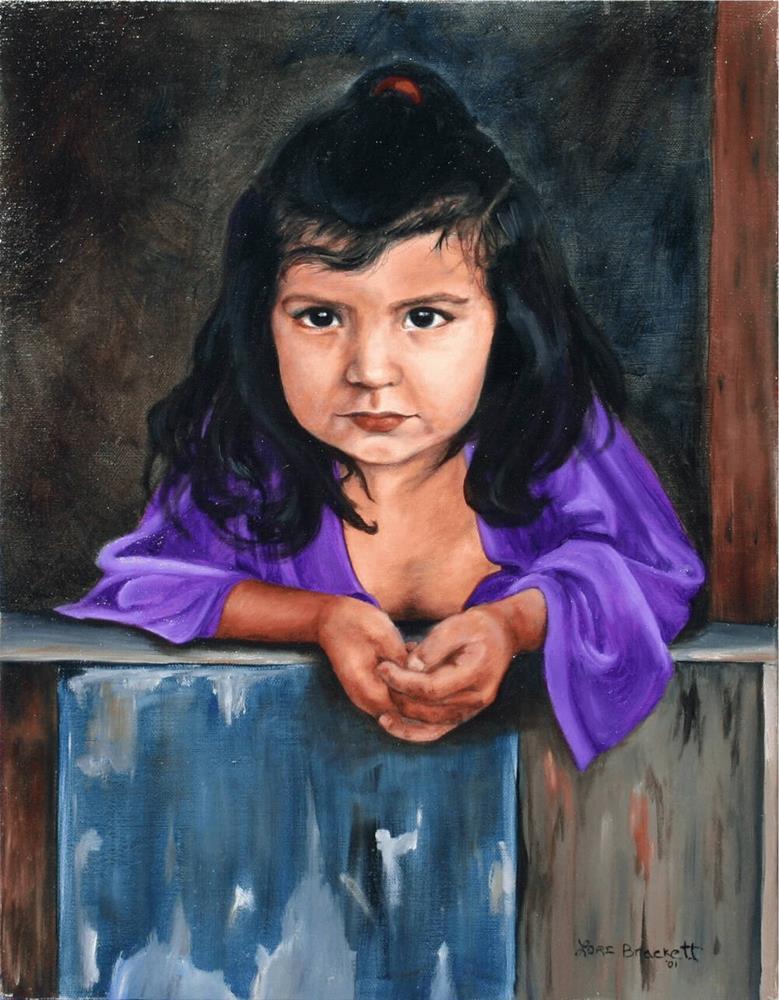 """Girl From San Lois"" original fine art by Lori Brackett"