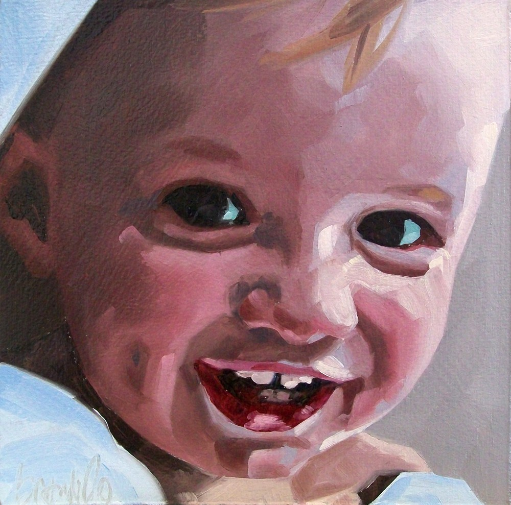 """Boy 2"" original fine art by Brandi Bowman"