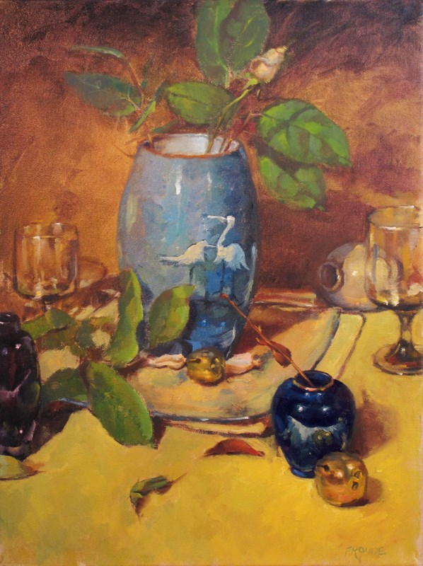 """Vessels"" original fine art by Dave Froude"