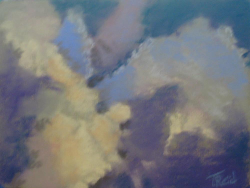 """""""Clouds #9"""" original fine art by Toby Reid"""