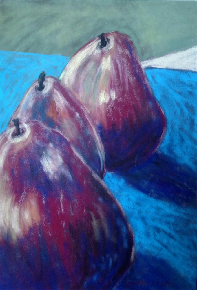"""The Pears"" original fine art by Mary Davies Kerns"