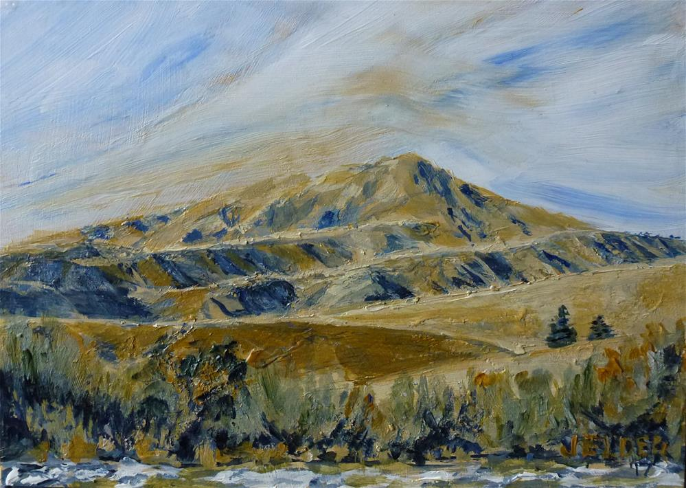 """Central WA Hills"" original fine art by Judith Elder"