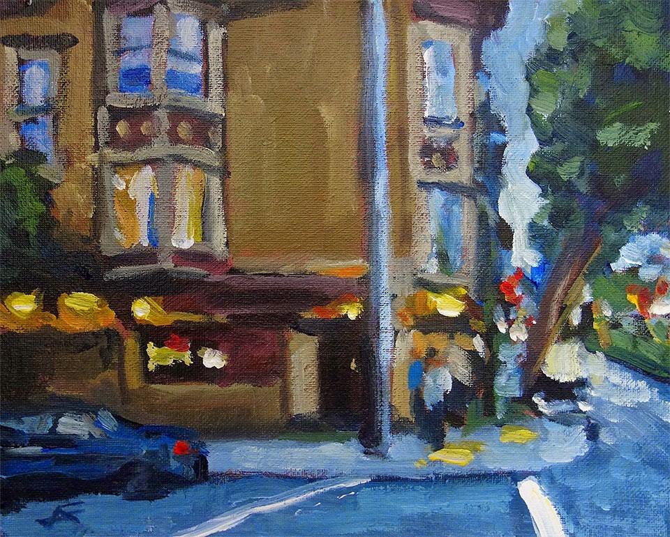 """Twilight at The Page"" original fine art by J. Farnsworth"