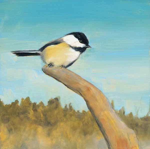 """""""On the Lookout"""" original fine art by Brenda Ferguson"""