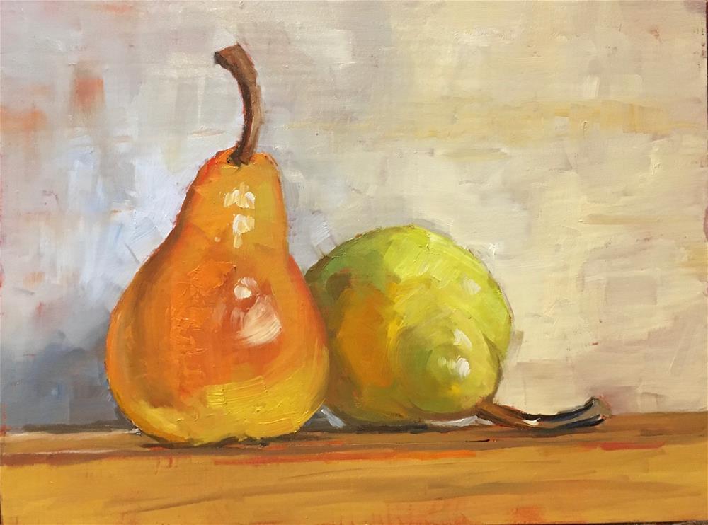 """Leaners"" original fine art by Carol Granger"