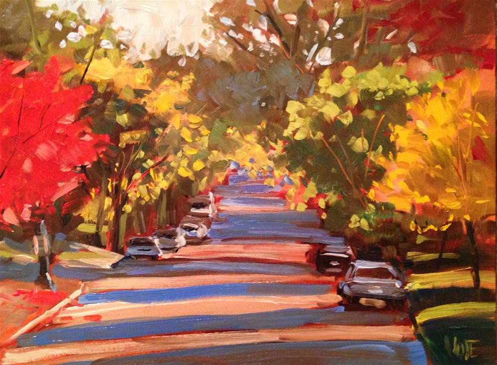 """#198 Dayton Avenue"" original fine art by Patty Voje"