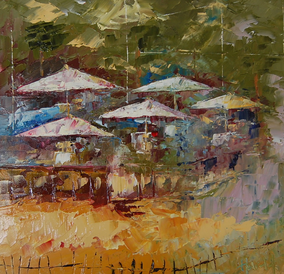 """""""Beachcomber #6"""" original fine art by Deborah Harold"""