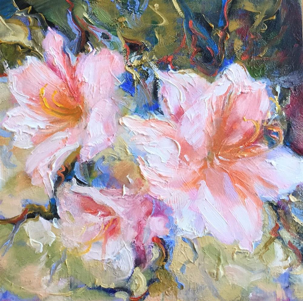 """Springtime"" original fine art by Charlotte Fitzgerald"