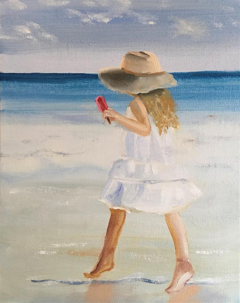 """Raspberry Ice"" original fine art by Patty Barnes"