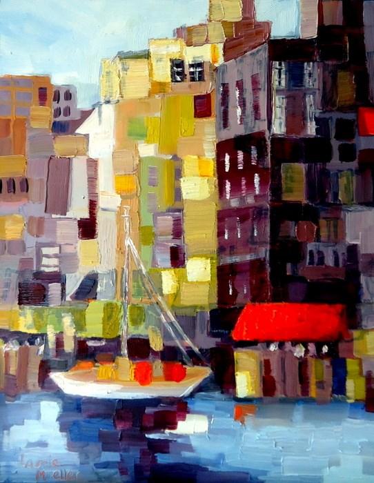 """Building Blocks"" original fine art by Laurie Mueller"
