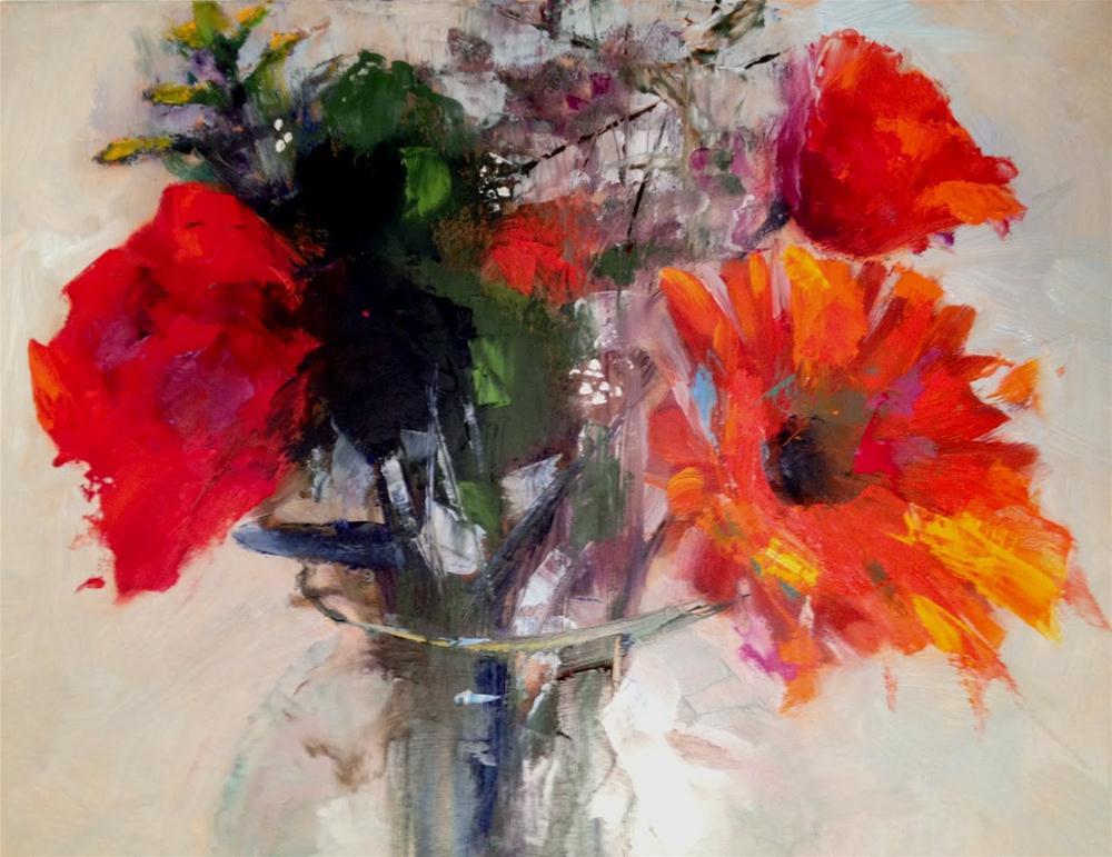 """Sunday Afternoon"" original fine art by Ann Feldman"