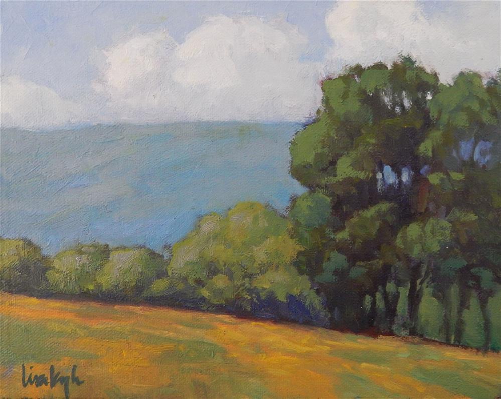 """Summer Sunshine"" original fine art by Lisa Kyle"