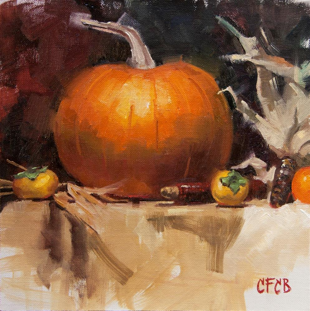 """Autumn Still Life"" original fine art by Catherine Bobkoski"