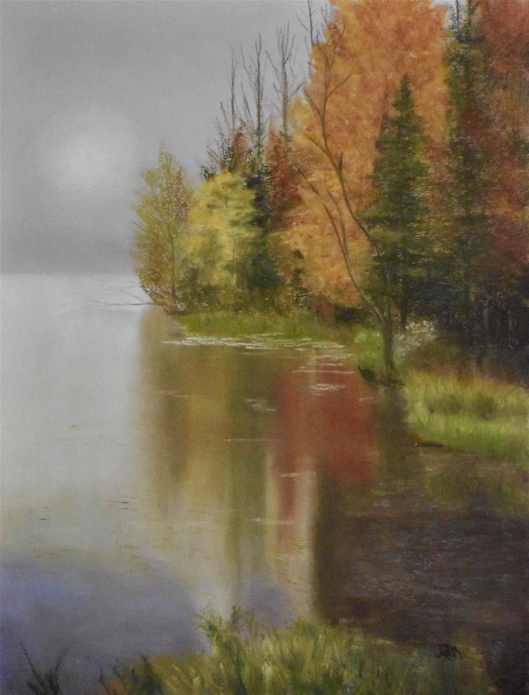 """""""Kent Pond, VT"""" original fine art by Judy Rath"""