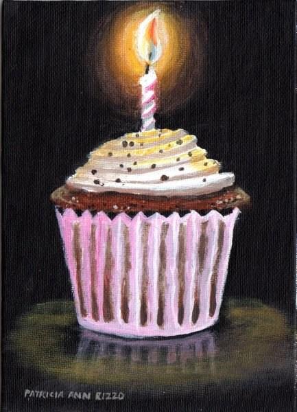 """Happy Birthday!"" original fine art by Patricia Ann Rizzo"
