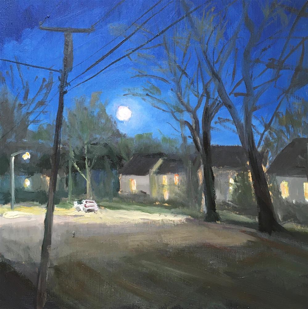 """Pool of Light"" original fine art by Shari Goddard Shambaugh"