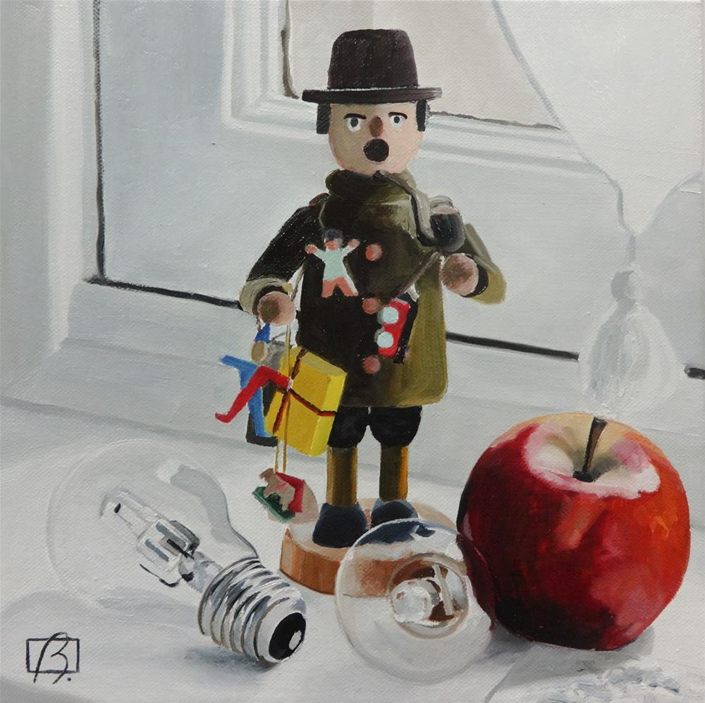 """Bonhomme"" original fine art by Andre Beaulieu"