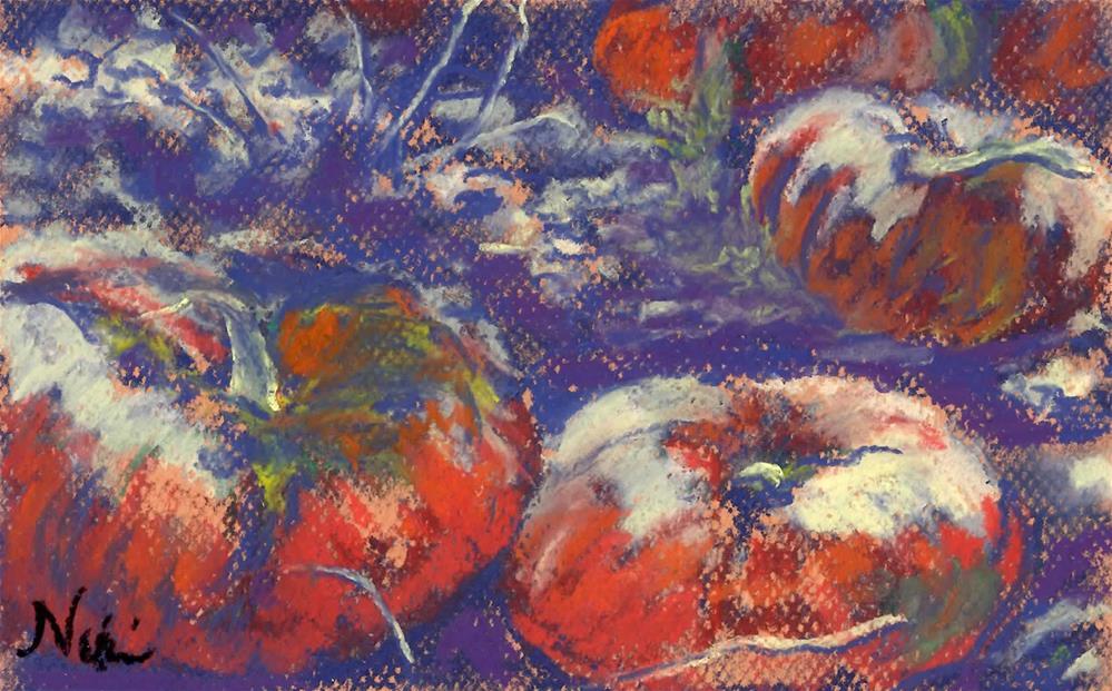 """""""Bitter Harvest"""" original fine art by Niki Hilsabeck"""