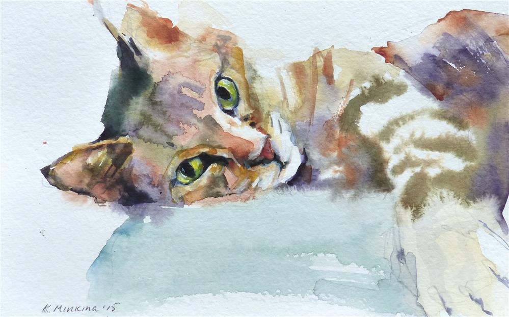 """adopt97"" original fine art by Katya Minkina"