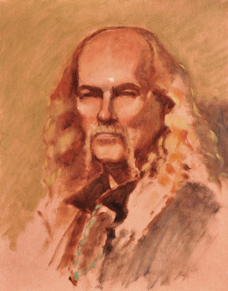 """David"" original fine art by Susan Matteson"