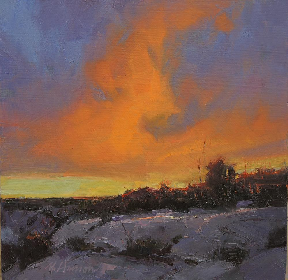 """Canyonland's Ending"" original fine art by Marc Hanson"