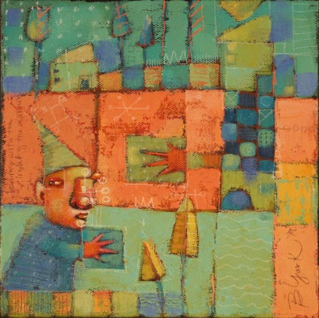 """""""Charlie's Closet"""" original fine art by Brenda York"""