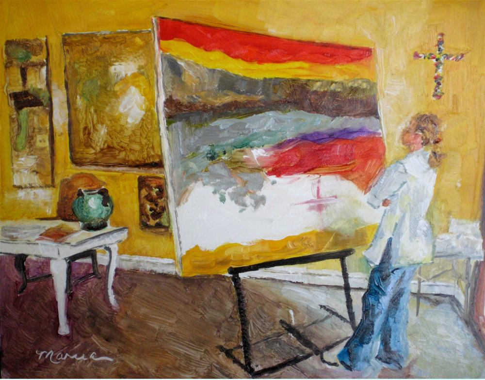 """Untitled"" original fine art by Marcia Hodges"