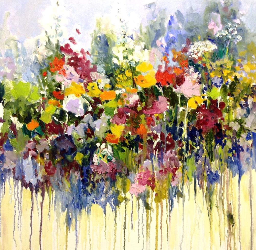 """""""Delightful"""" original fine art by Cathy Boyd"""