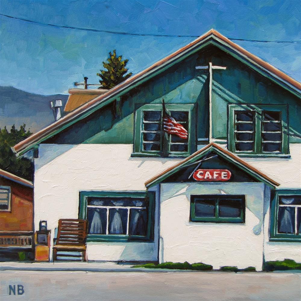 """""""Meet Me in Montana"""" original fine art by Nora Bergman"""