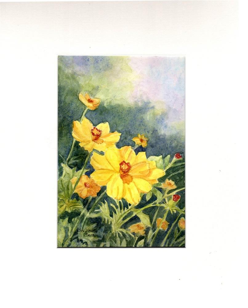 """JANUARY SALE -Spring Fantasy II"" original fine art by Vikki Bouffard"