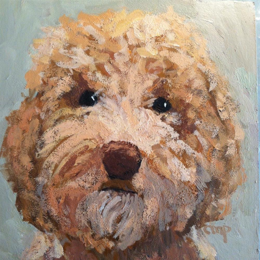 """Murray"" original fine art by Christine Parker"