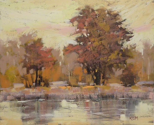 """""""Five Tips for Painting with Yellow"""" original fine art by Karen Margulis"""