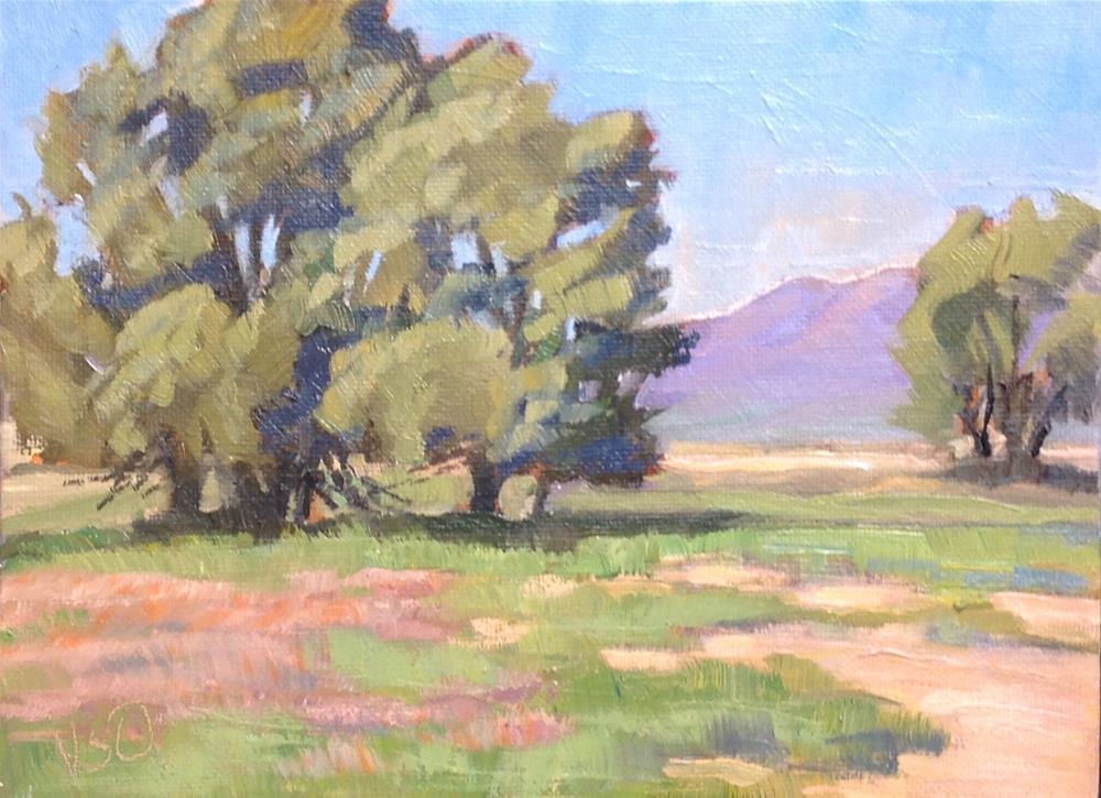 """""""Sunny Afternoon"""" original fine art by Valerie Orlemann"""