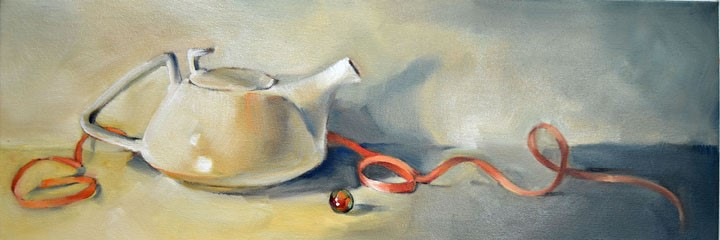 """""""Teapot"""" original fine art by Cheryl Wilson"""