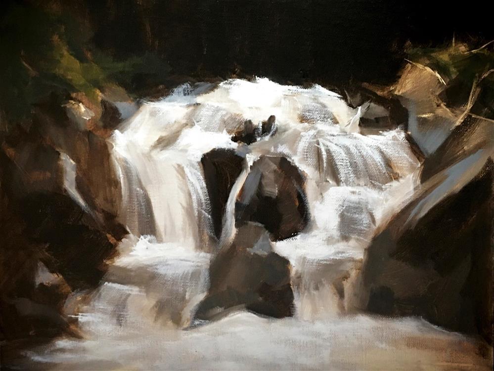 """""""Challenge - Forest"""" original fine art by Van DeGoede"""