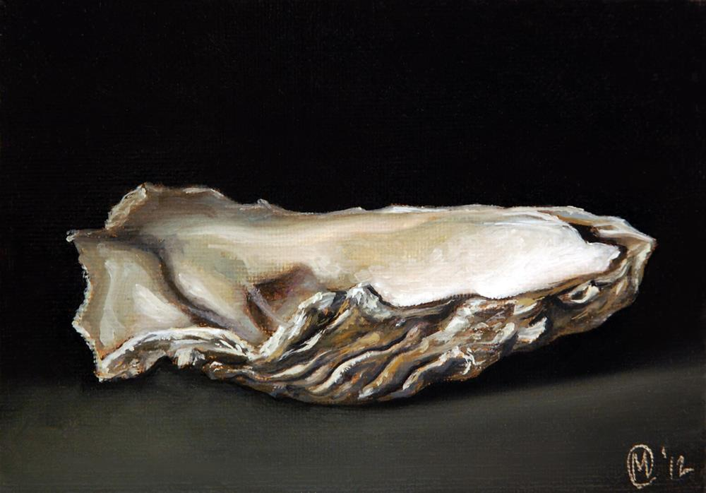 """Empty Shell"" original fine art by Maurice Morgan II"