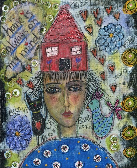 """Always On My Mind"" original fine art by Sonja Sandell"