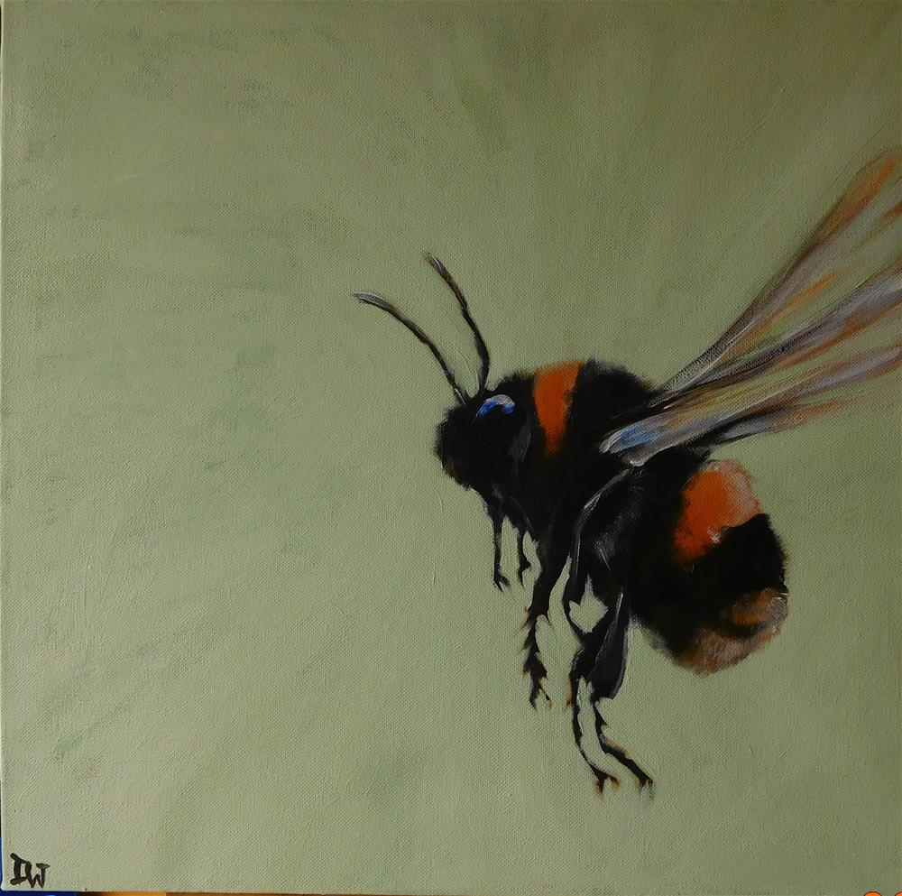 """""""B is for Bee"""" original fine art by Daryl West"""