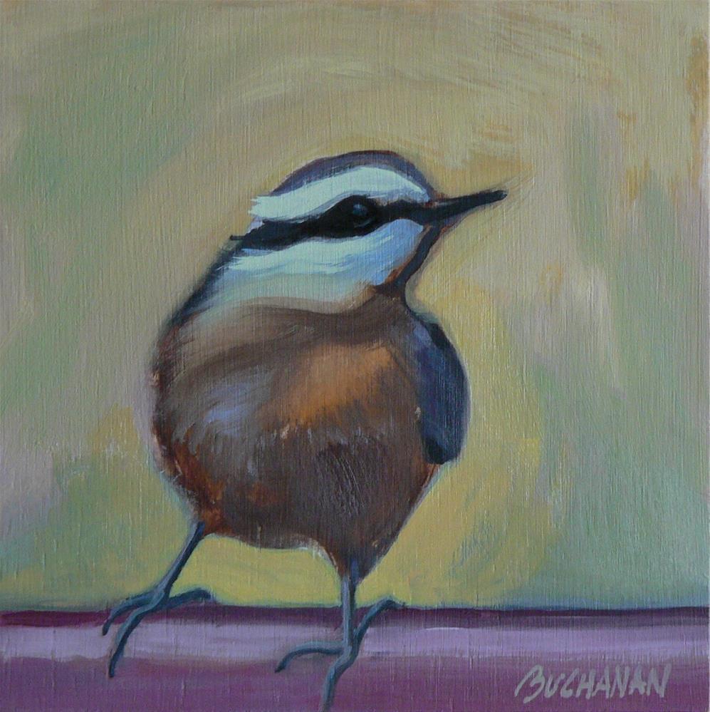 """""""A Fine Fellow"""" original fine art by Leigh Buchanan"""