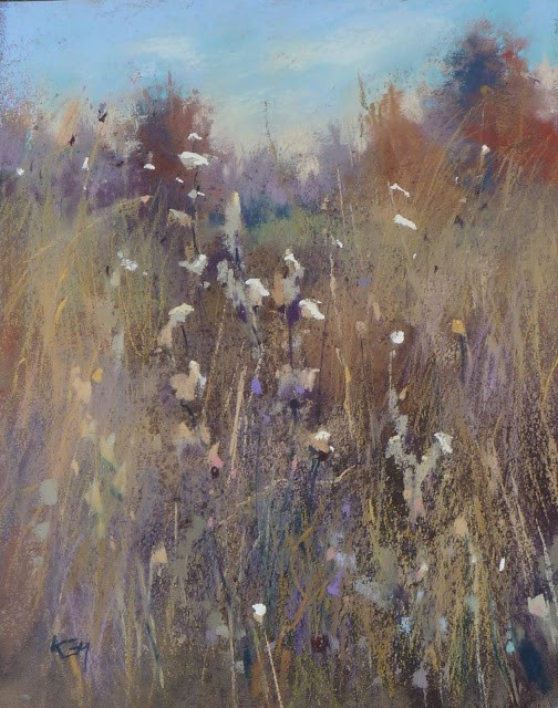 """""""I Never Thought I had a Chance.....on entering an IAPS exhibition"""" original fine art by Karen Margulis"""