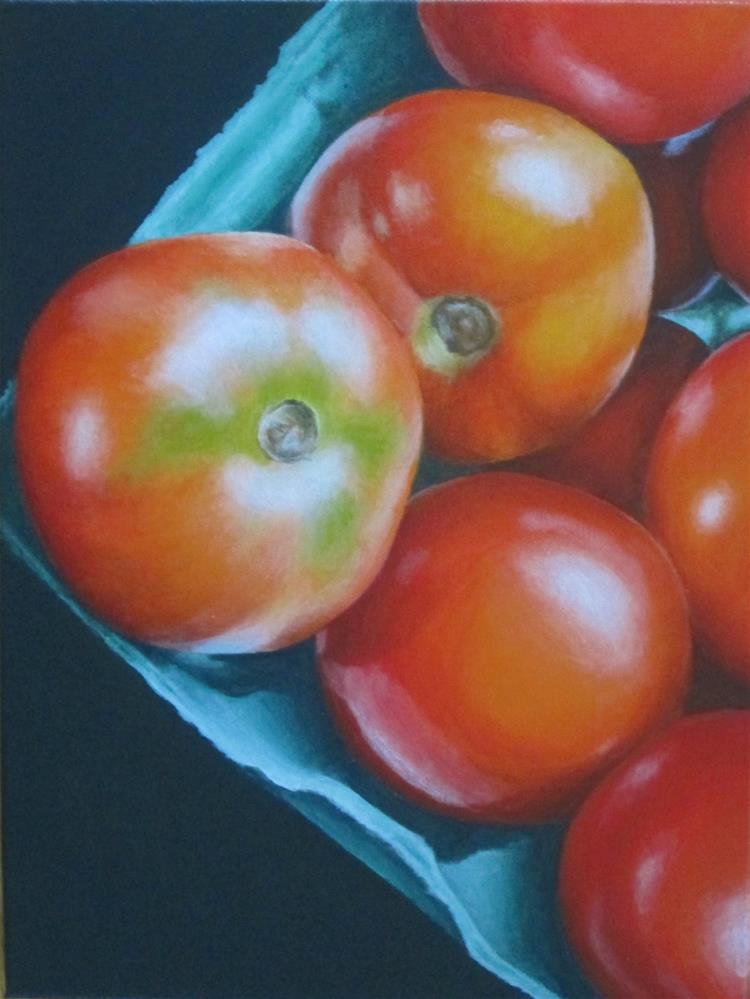 """Sequestered"" original fine art by Debbie Shirley"