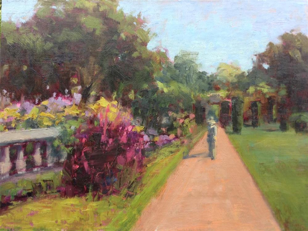 """Finally Spring study"" original fine art by Barbie Smith"