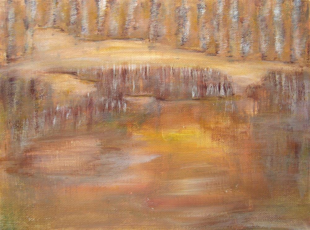 """""""Hidden Place"""" original fine art by Alina Frent"""