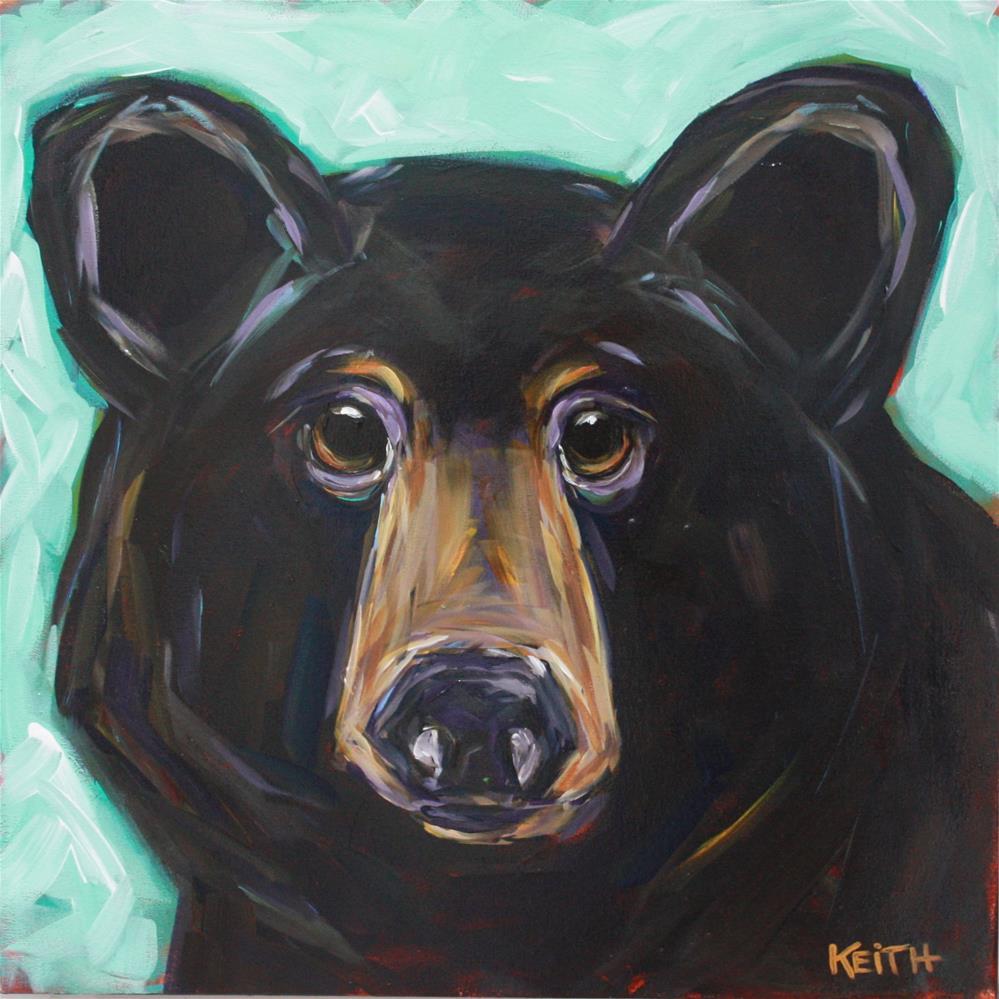 """Grylls"" original fine art by Kandice Keith"