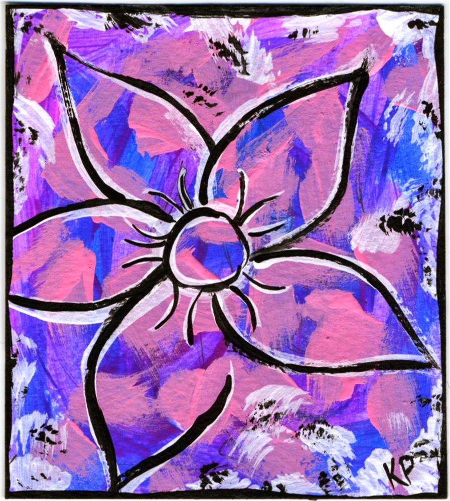 """Feels Like Spring"" original fine art by Kali Parsons"