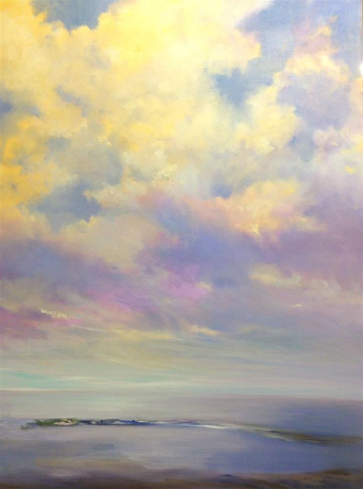 """""""Bird's Eye View"""" original fine art by Cathy Boyd"""